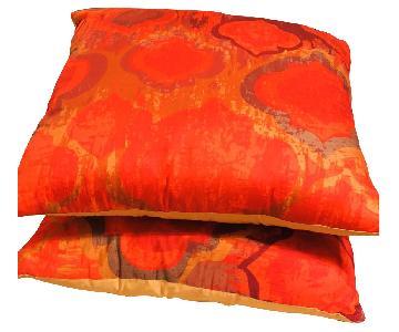 Eridani Cotton Throw Pillow Cover