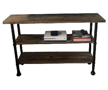 UMA Enterprise Inc. Distressed Wood Bookshelf