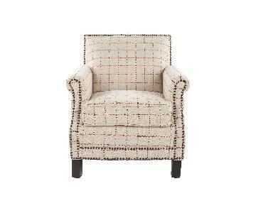 Safavieh Easton Club Plaid Chairs