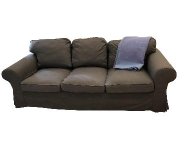 Ikea Ektorp Grey Sofa