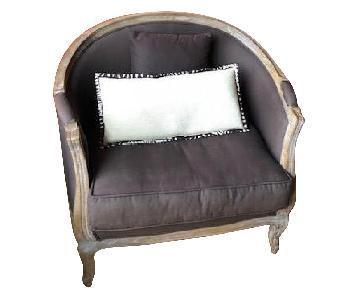 Ballard Designs Sofia Upholstered Chair