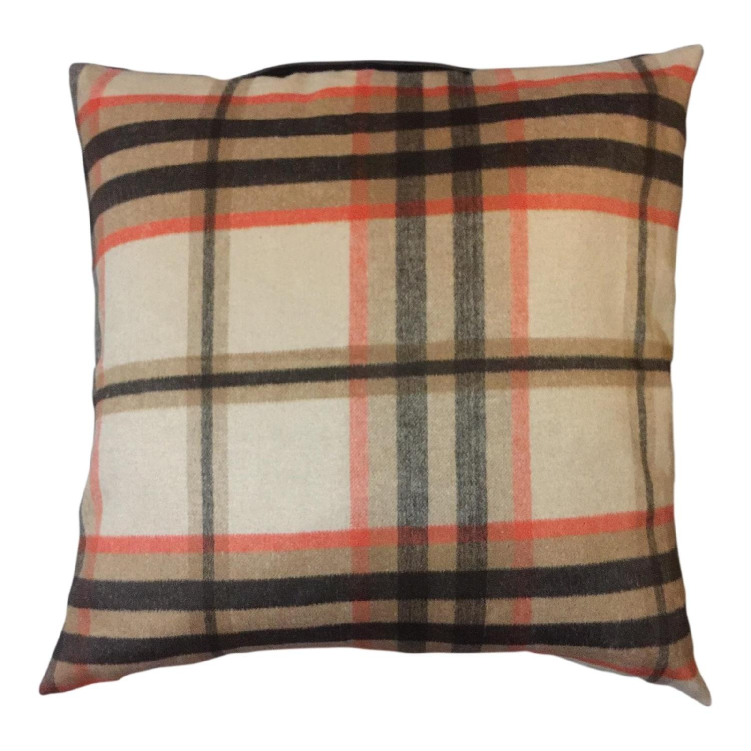Burberry Inspired -Woodland Pillow - image-0