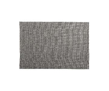 Crate & Barrel Grey Sisal Rug