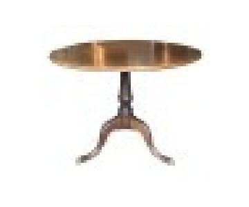 Antique Mahogany Tilt-Top Pedestal Table