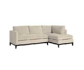 West Elm Blake 2-Piece Right Arm Chaise Sectional Sofa