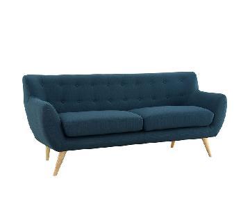 Manhattan Home Design Remark Upholstered Sofa