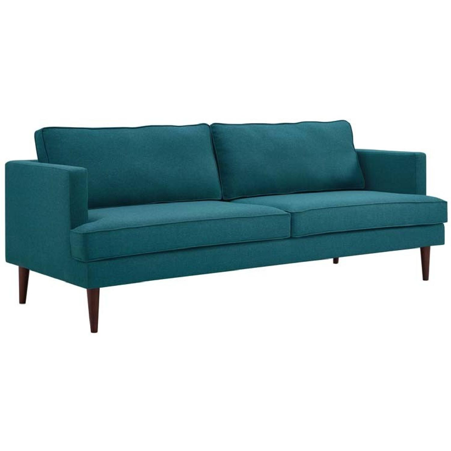 Manhattan Home Design Agile Upholstered Fabric Sofa