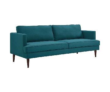 Manhattan Home Design Agile Upholstered Fabric Sofa