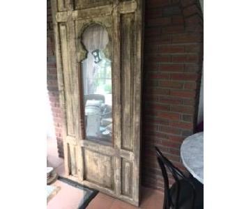Arhaus Wood Framed Mirror