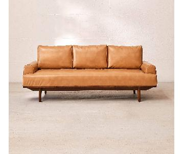 Urban Outfitters Sabrina Recycled Leather Sofa