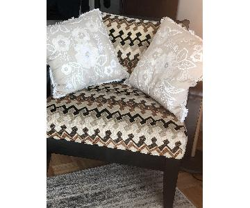Raymour & Flanigan Arm Chair w/ Removable Back Cushion