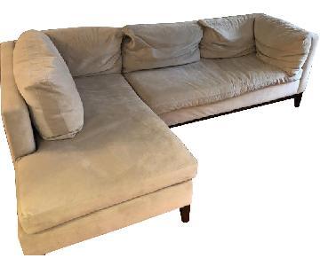 West Elm Dunham 2-Piece Sectional Sofa