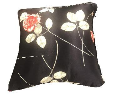 Custom Black Throw Pillows
