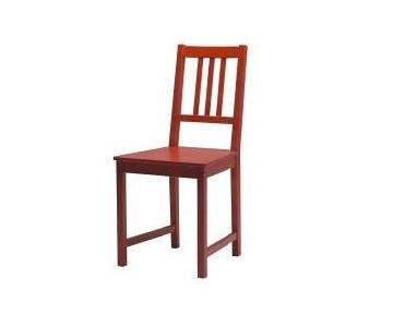 Ikea Stefan Red Dining Chairs