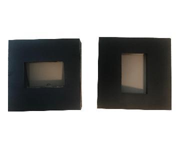 CB2 Black Box Picture Frames