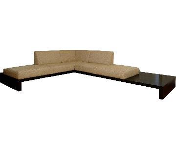 Della Robbia Zatana 3-Piece Sectional Sofa