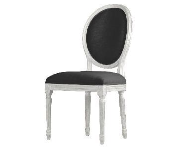 Restoration Hardware Vintage French Round Side Chairs