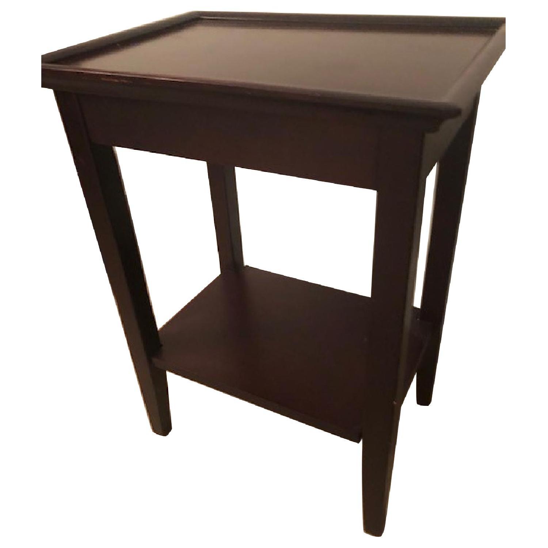 Bob's Dark Brown Side Table