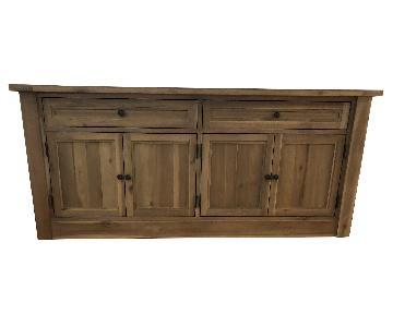 Restoration Hardware Wooden Sideboard