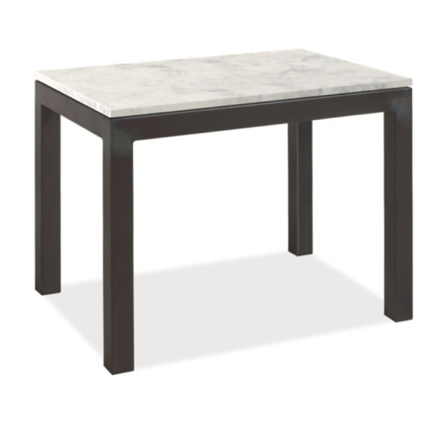Room & Board Parsons Marble White Quartz Coffee Table
