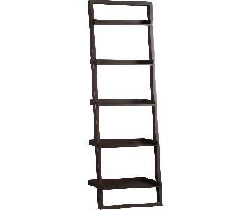 Crate & Barrel Sloane Leaning Shelves