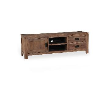 Macy's Champagne TV Stand
