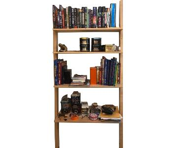 Room & Board Modern Leaning Bookcase