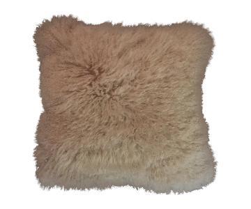 Mongolian Lambs Fur Pillow