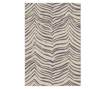 West Elm Platinum Safari Rug