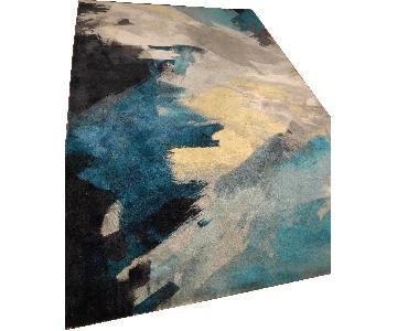 West Elm Brush Stroke Rug