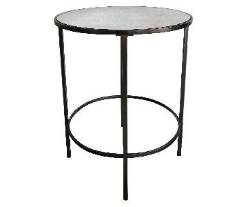 West Elm Oil Rubbed Bronze Side Table