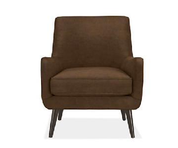 Room & Board Quinn Chair in Brown