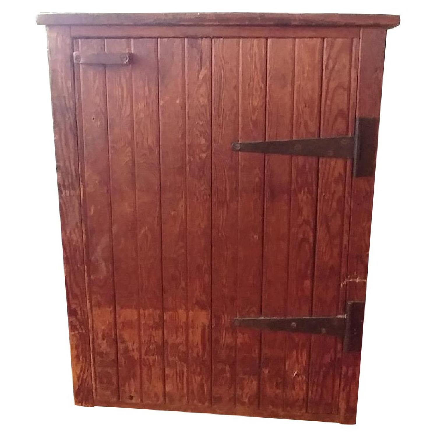 Early 1800s Primitive Storage Cabinet