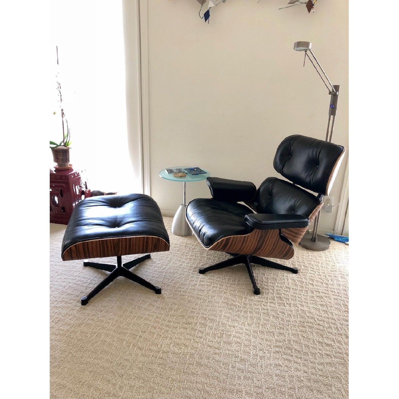 Magnificent Manhattan Home Design Eames Lounge Chair Replica Aptdeco Pabps2019 Chair Design Images Pabps2019Com