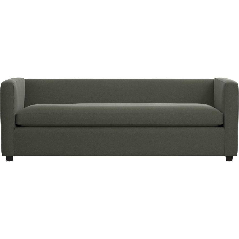 CB2 Movie Sleeper Sofa U0026 Storage Ottoman ...