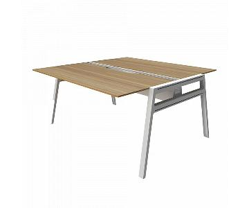 Steelcase Bivi Modular Office Desk for 2