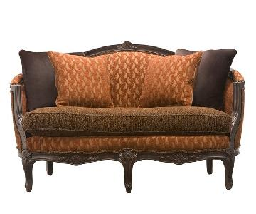 Raymour & Flanigan Antique Style Valentyna Settee