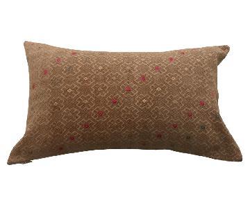 Chinese Wedding Blanket Pillow