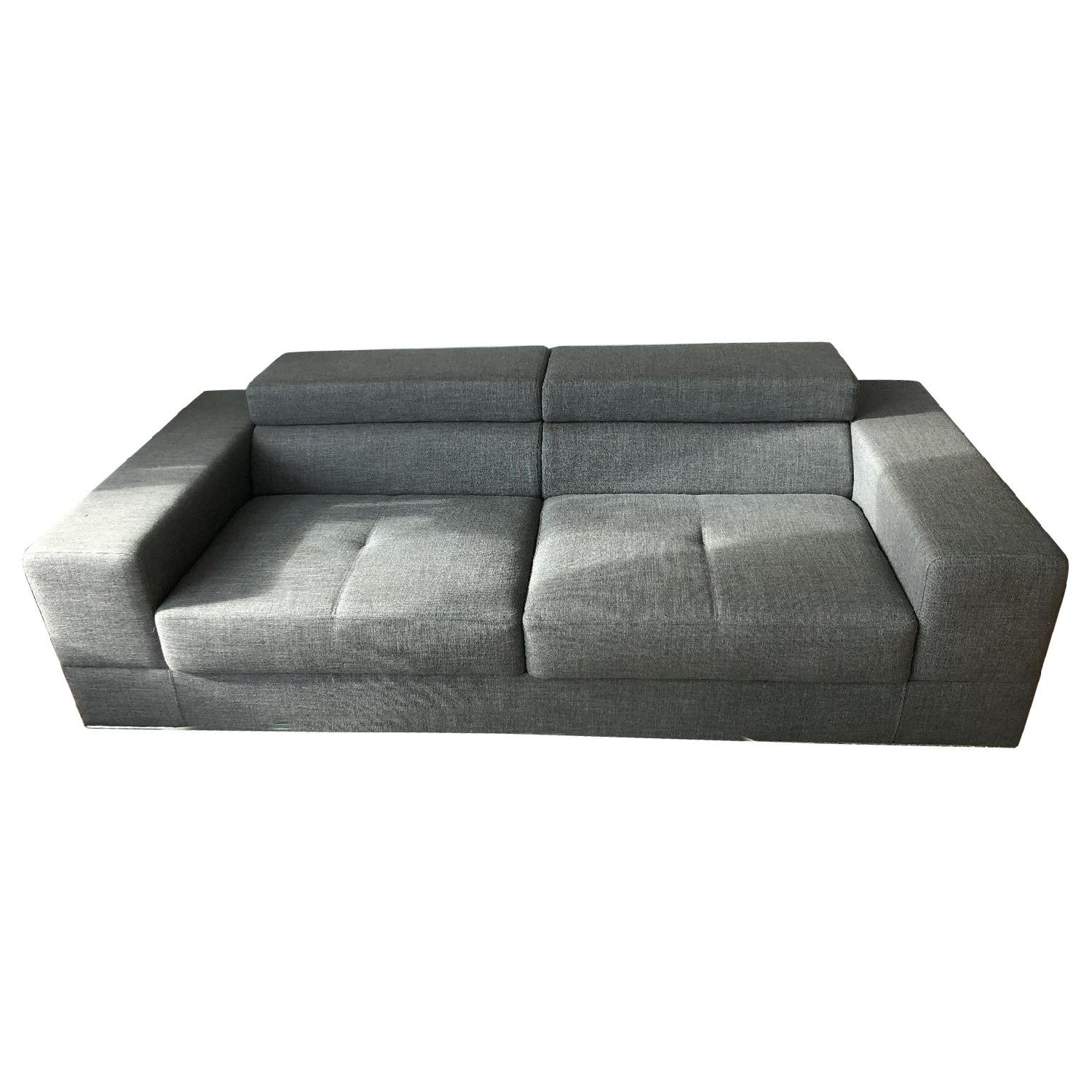 Lanzonni Grey Sofa