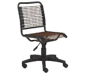 Container Store Brown Bungee Office Chair