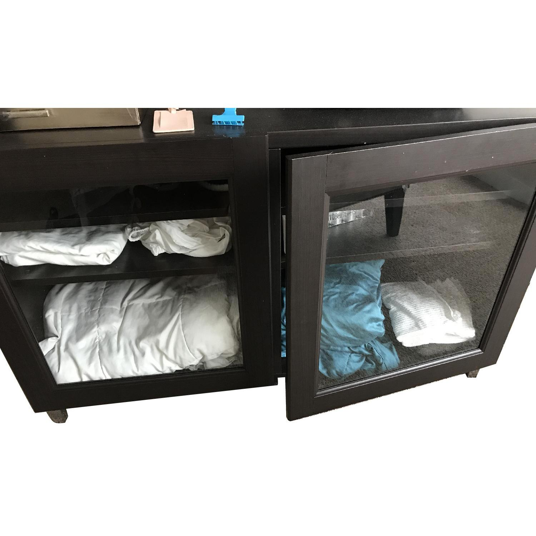 Ikea Besta Media Storage Unit Aptdeco