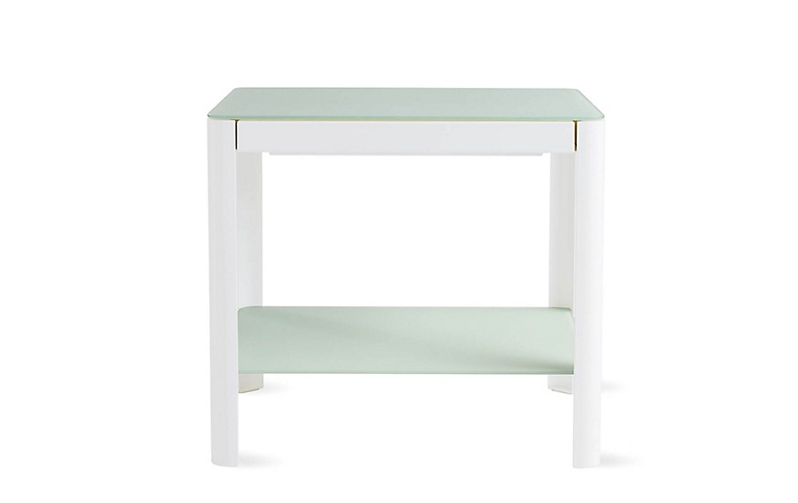 Design Within Reach Min Bedside Tables w/ Shelf