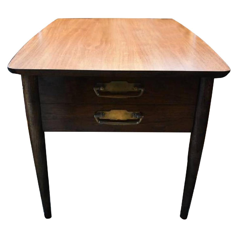 Lane Vintage Mid Century Modern Side Table