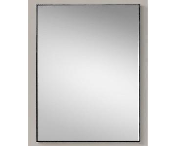 Restoration Hardware Metal Floating Mirror