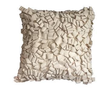 Modern Felt Loop Pillow