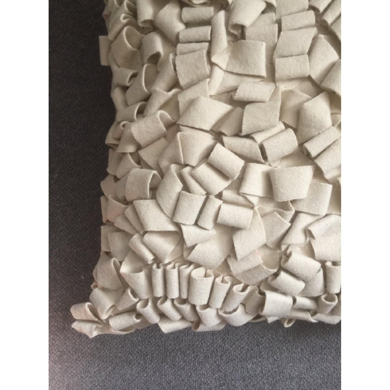 Modern Felt Loop Pillow - image-1