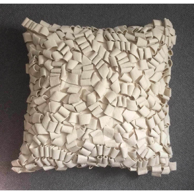 Modern Felt Loop Pillow - image-3