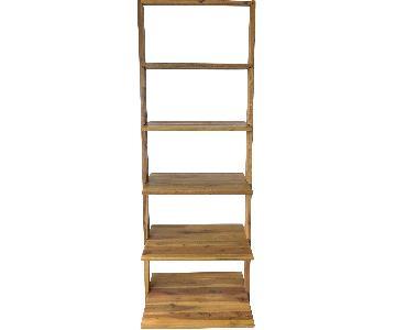 5 Shelf Driftwood Bookcase