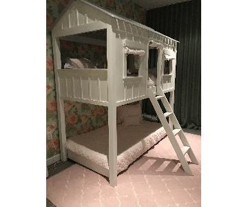 Restoration Hardware Cabin Loft Bunk Bed & Trundle