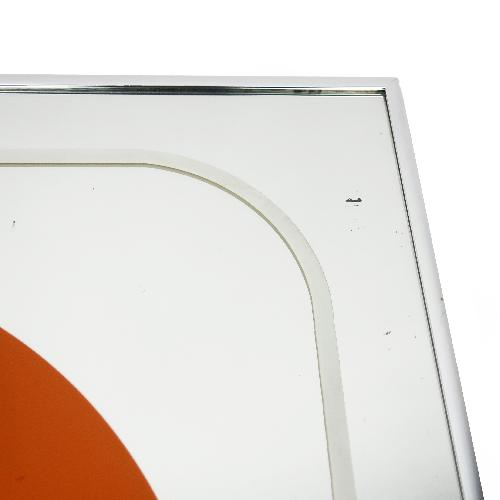 Used 1970s Vintage Painted Mirror by Jim Rosloff for Academy Arts for sale on AptDeco